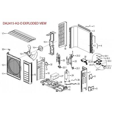 Room Temperature Sensor for DA1815-OUTDOOR, DA2415-OUTDOOR