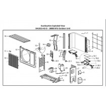 Pipe Temperature Sensor Assembly for DA1815, DA2415, DA1221