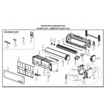 Single-Phase Asynchronous Motor for Air Handler of DA1815-INDOOR