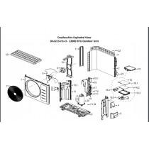 Asynchronous Motor for Condenser of DA1215-OUTDOOR