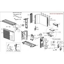 Discharge Temperature Sensor Assembly for DA1221-OUTDOOR, DA1821-OUTDOOR
