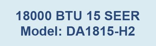 DA1815-H2